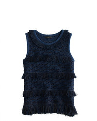 J.Crew Collection Japanese Raffia Tank