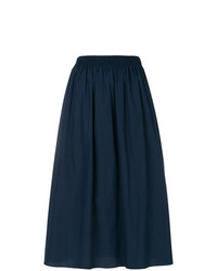 Agnona Pleated Midi Skirt