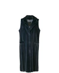 Liska Sleeveless Long Coat