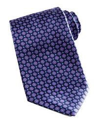 Navy Geometric Tie
