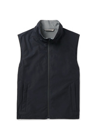 Canali Slim Fit Shell Gilet