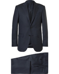 Navy Gingham Suit