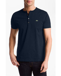 Navy henley shirt original 2597577