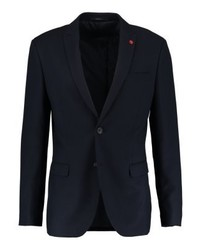 Pier One Suit Jacket Dark Blue