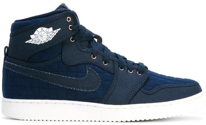 pretty nice 62a08 a9de7 Nike Air Jordan 1 Retro Ko High Og Hi Top Sneakers, £126   farfetch ...