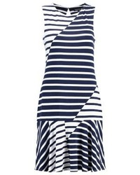 Tommy Hilfiger Cyan Jersey Dress Blue