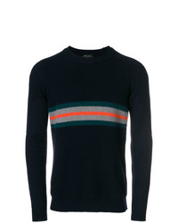 Roberto Collina Banded Knit Sweater
