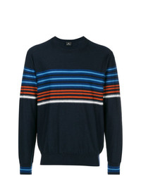 Ps By Paul Smith Stripe Detail Sweater