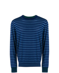 Ps By Paul Smith Striped Crew Neck Jumper