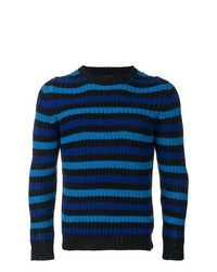 Mp Massimo Piombo Striped Jumper