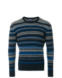 Drumohr Striped Long Sleeved Sweater