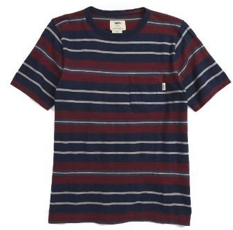 937e782b0e ... Vans Boys Barrington Stripe T Shirt ...