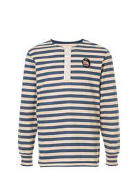 Kent & Curwen Striped Longlseeved T Shirt