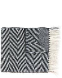 Eleventy Striped Scarf