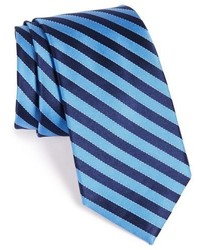 Nordstrom Shop Stitch Stripe Silk Tie