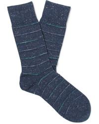 Falke Striped Cotton Blend Socks