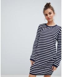 Blend She Lina Striped Jumper Dress Stripe