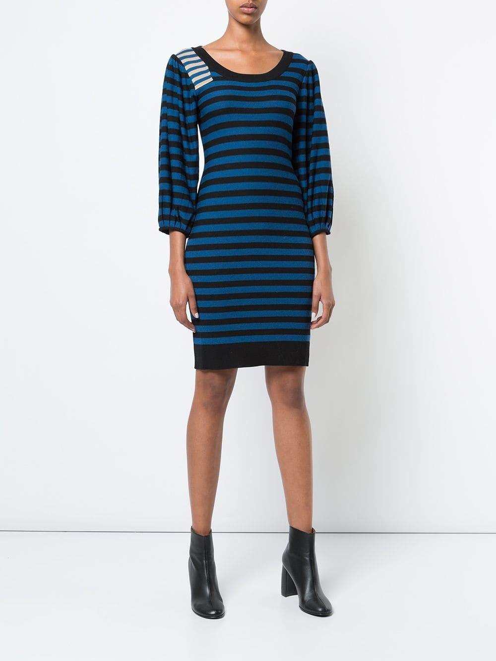 54fb92d421 Sonia Rykiel Striped Knitted Dress, £294 | farfetch.com | Lookastic UK