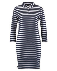 Tommy Hilfiger Striped Summer Dress Blue