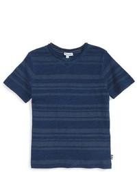 Splendid Stripe V Neck T Shirt