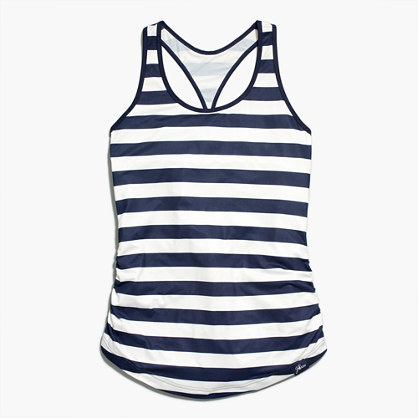1bf44676ab7b0 ... Navy Horizontal Striped Tanks New Balance For Jcrew Perfect Tank Top In  Stripe ...
