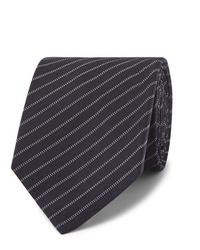 Berluti 65cm Striped Wool And Silk Blend Tie