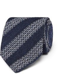 8cm striped silk blend tie medium 1245828