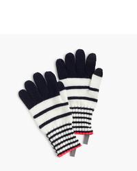 J.Crew Girls Striped Wool Gloves