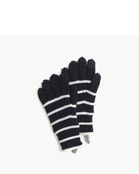 J.Crew Kids Striped Wool Gloves