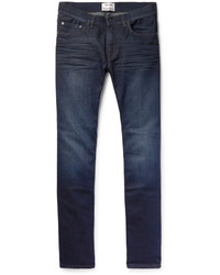 Acne Studios Ace Oreo Slim Fit Stretch Denim Jeans