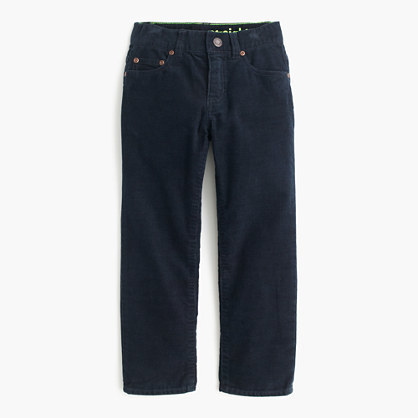 J.Crew Boys Vintage Cord In Straight Fit