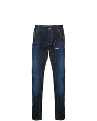 Les Hommes Urban Distressed Slim Fit Jeans