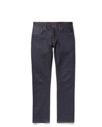 Nudie Jeans Grim Tim Slim Fit Organic Stretch Denim Jeans
