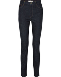 Victoria Beckham High Rise Slim Leg Jeans