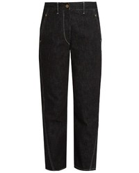 Lemaire High Rise Straight Leg Jeans