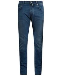Jacob Cohen Jacob Cohn Tailored Slim Leg Stretch Denim Jeans