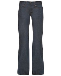 Maison Margiela Mm6 By Low Rise Wide Leg Jeans