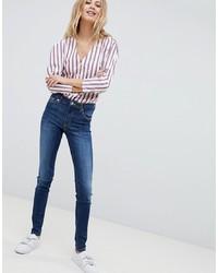 Monki Mocki Slim Mid Waist Jeans