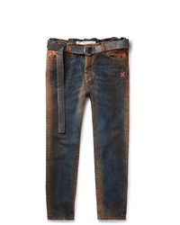 Off-White Oil Washed Denim Jeans