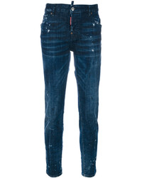 Dsquared2 Paint Splatter Cool Girl Jeans