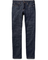 A.P.C. Petit Standard Slim Fit Dry Selvedge Denim Jeans