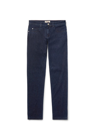 Loro Piana Slim Fit Cotton And Cashmere Blend Denim Jeans