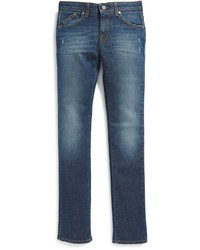 Armani Junior Slim Fit Straight Leg Jeans