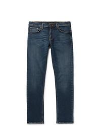 Nudie Jeans Steady Eddie Ii Slim Fit Tapered Organic Stretch Denim Jeans