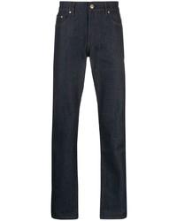 Burberry Straight Leg Mid Rise Jeans