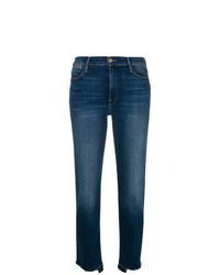 Frame Denim Stretch High Waist Released Jeans