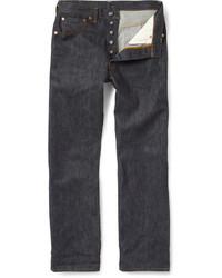 Vintage clothing 1947 501 shrink to fit selvedge denim jeans medium 707399