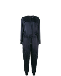 Theory Drawstring Waist Jumpsuit