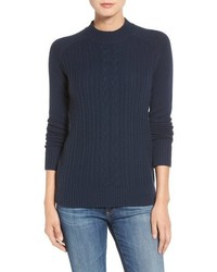 AG Jeans Ag Leon Cable Knit Merino Wool Cashmere Sweater