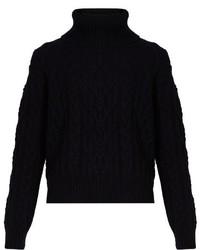 Nili Lotan Gigi Cable Knit Cashmere Sweater